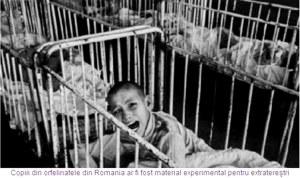 copiii din orfelinatele lagar de pe vremea lui ceausescu ar fi fost dati de catre dictator extraterestrilor ca experimente